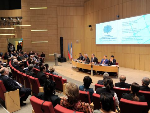 VI Baku International Humanitarian Forum: first meeting of foreign graduates of Azerbaijani universities kicks off