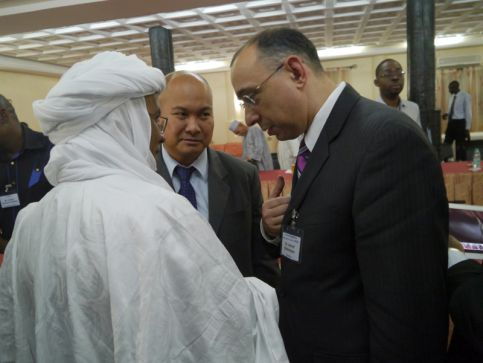 The Director of AIDA Ashraf Shikhaliyev took a part in the visit to the three countries of Africa's Sahel region – Niger, Mali, Burkino Faso on 14-21 October 2012
