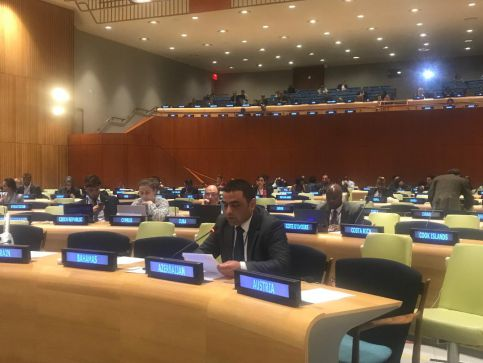 "A representative of the Agency for International Development (AIDA) of the Republic of Azerbaijan delivered a speech at the ""Development Finance Forum"" held in New York on April 15-19, 2019"