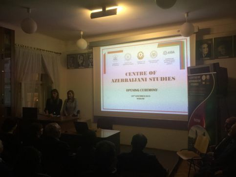 The Center for Azerbaijani Studies was opened at the University of Warsaw