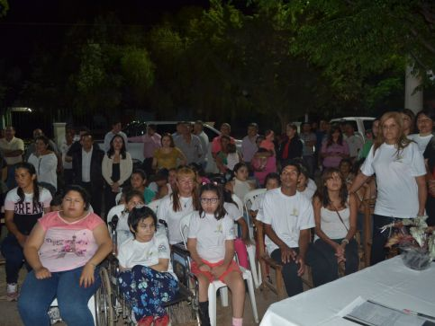 AIDA provided aid for children with disabilites in Argentina