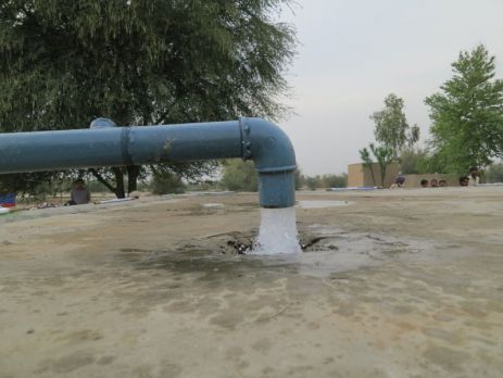 """Heydar Aliyev Water Supply Scheme"" in Pakistan"